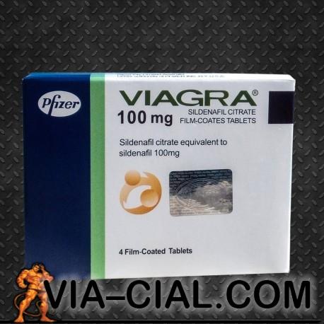 Pfizer Marca Viagra Sildenafil 100mg